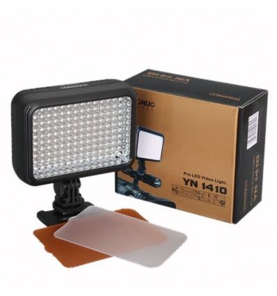 YongNuo LED1410 m Barndoor und 2 diffusese auf die Farbe kontrollieren