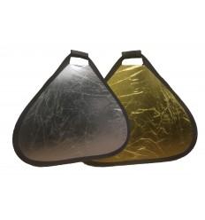 2in1 Reflektor 82 cm handheld (Silber & Gold)