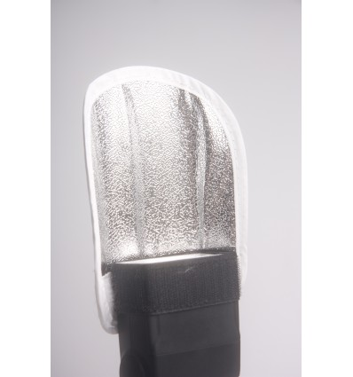 Strobist Reflektor 14x17cm - Silver & White 0