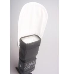 Strobist Reflektor 14x17cm - Silber & Weiß 2