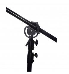 Cantilever boom stand (boom 132-245 cm) (stativ 105-180 cm),ekstrem stærk m hammer vægt 0