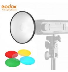 Godox AD-M Keylight med farvefiltre