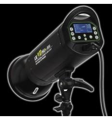 LH-300 - 300watt Digital-Flashlampe - Leitzahl 58 - LCD-display - Built-in-Auslöser / Fernbedienung 0