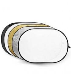 Godox 5i1 Reflektor 60 x 90 cm (Weich, Silber, gold, schwarz & weiß)