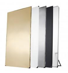 """Walimex pro 5i1 Reflektoren Panel, 1x2m """"""""AUF remote-storage - Lieferzeit ca. 3 hverdages"""""""""""