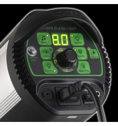 TTS II300 - 300watt Digital-Flashlampe - Leitzahl 58 - LED-Anzeige - Built-in trigger - / Fernbedienung 3