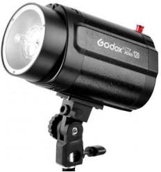 Godox 160watt Flashlampe - Ledetal 43 - 75watt Guidepære - Lille universal fatning m. indbygget keylight