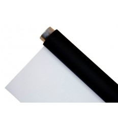 Menik Vinyl-Schwarz/Weiß - 2 x 6m - 440gr. qm 0