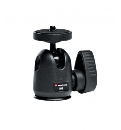 Manfrotto kuglehoved micro 492 - KameraStativ Hoved 0