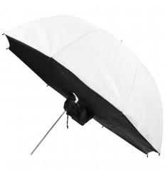 Regenschirm Soft Licht Box WEIß 109cm 0