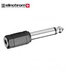 """Elinchrom Adapter 3.5 mm til 6.2 mm """"""""ca. 1-2 hverdages leveringstid"""""""" 0"""