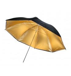 BOLING Regenschirm mit gold-Beschichtung - 109 cm