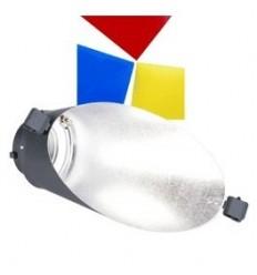 Walimex baggrundsreflektor den VC m. Farbe filter