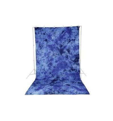 Walimex stofbaggrund 2,8x5,8m dunkelblau 0