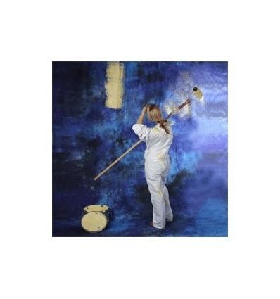 Walimex stofbaggrund 2,8x5,8m dunkelblau 2