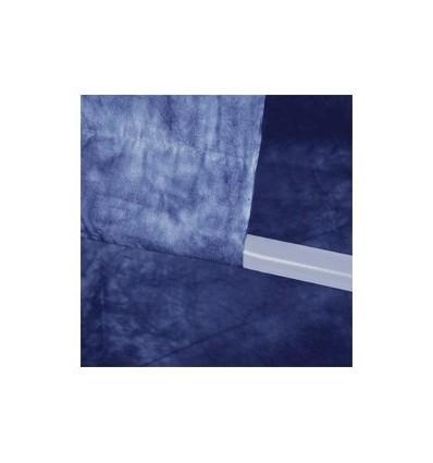 Walimex stofbaggrund 2,8x5,8m dunkelblau 3