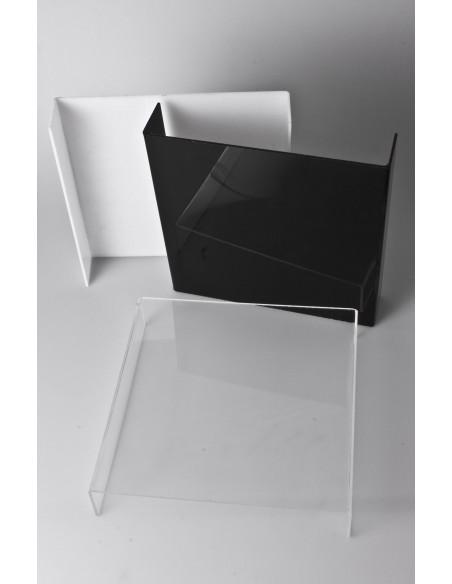BEREIT - Kleine Kristall-Foto-Tisch/Hintergrund 24x24 cm 0