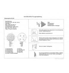 BOLING SLH4 3 4 x 25 Watt Videolyssæt 6