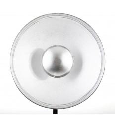 Beauty Dish, 41 cm, mit Alveole WEIß