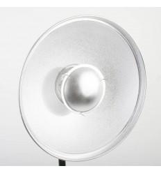 Beauty Dish, 57 cm, mit Alveole und WEIß