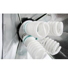 2 x SLH4 Komplette Start-Paket - video-Licht-m-Stativ-280 cm, lampehoved, softbox 8 x 125watt Energiesparlampen 3