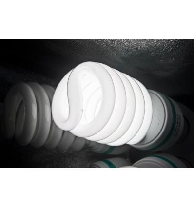 2 x SLH4 Komplette Start-Paket - video-Licht-m-Stativ-280 cm, lampehoved, softbox 8 x 125watt, Energiesparlampen 5