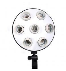 2 x SLH4 Komplette Start-Paket - video-Licht-m-Stativ-280 cm, lampehoved, softbox 8 x 125watt, Energiesparlampen 11