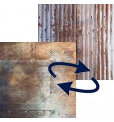 Lastolite Faltbarer hintergrund Wellblech / Metall-1.5x2.1 m. 0