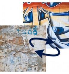 Lastolite falthintergrund-graffiti / alte Plakate 1.5x2.1 m. 0