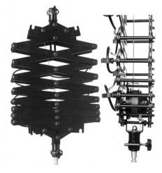 Stromabnehmer, Scheren-Gestänge des flash 1