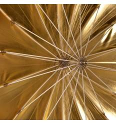 Regenschirm, 130cm Tief Gold Top Qualität