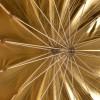 Regenschirm, 130cm Tief, Gold 1