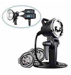 Godox AD-H1200 Remote-Head Bowens inkl. 1200Watt blitzröhren und inkl. Kabel für möglich tilkøbling von 2 pcs AD600 0