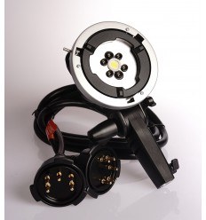 Godox AD-H1200 Remote-Head Bowens inkl. 1200Watt blitzröhren und inkl. Kabel für möglich tilkøbling von 2 pcs AD600 2