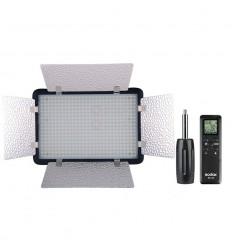 Godox LED500-LED-Lampe mit barndoor