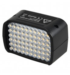 LED-Blitz-Kopf auf der Godox Wistro AD200