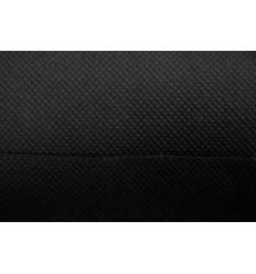 Kanvasbaggrund auf der linken Karton-core auf - 3x6m - Schwarz