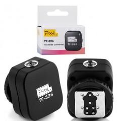 Pixel TF-326 Blitzschuh-sync-adapter-Canon