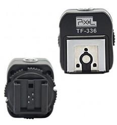Pixel-Sony zu Canon/Nikon TF-336-Blitzschuh Konverter