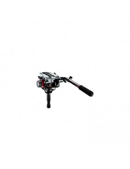 Manfrotto Videohoved Pro 504HD Fluid Kopf 75mm ball *Demo-Ware* 0
