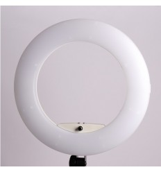 5500 Kelvin ( Yidoblo LED FE480 Ring Licht 96 watt ) LCD-display & Fjerbetjening