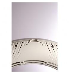 3200-5500 Kelvin : Schwarz Rückseite ( Yidoblo LED-Ring-Licht-96 watt ) LCD-display & Fjerbetjening