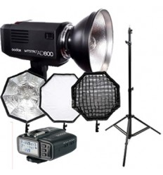 Godox Witstro AD600 (GODOX fit) KIT Canon, Nikon, Sony mm TTL, HSS, 1-1/256, Leitzahl 87-500skud, Stark Pilotlys, 1/220 - 1/1