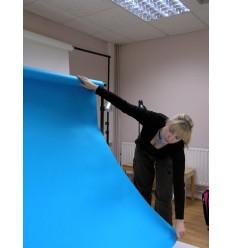 Hintergrund Papier - Farben: 44 Schwarz 2,72 x 25m extra-heavy-duty-13 kg Qualität - 200 gr. pr. kvm. 1