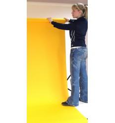Hintergrund Papier - Farben: 44 Schwarz 2,72 x 25m extra-heavy-duty-13 kg Qualität - 200 gr. pr. kvm. 2