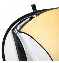 Reflektor 5i1 (Soft, Silber, gold, schwarz & weiß) 150 x 200 cm, Farben: gold, Silber, weiß, schwarz und weich 0