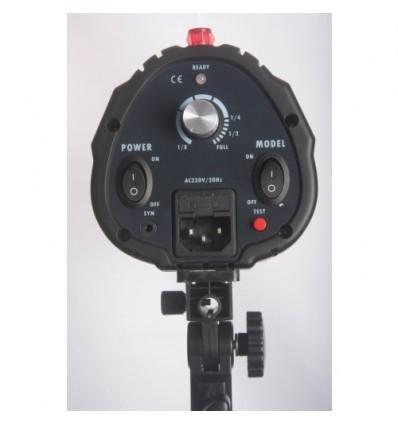 """Godox 160watt Flashlampe - Leitzahl 43 - 75watt Guidepære - Kleines universal-Lampenfassung m. built-in """"keylight"""" 1"""