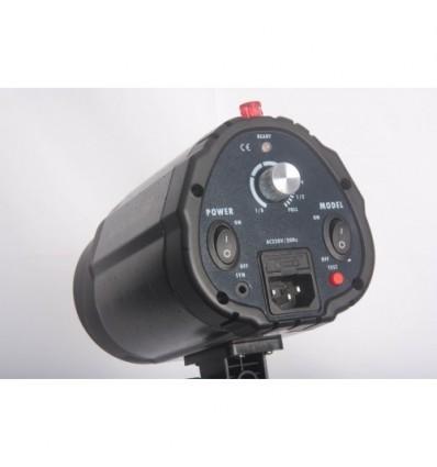 """Godox 160watt Flashlampe - Leitzahl 43 - 75watt Guidepære - Kleines universal-Lampenfassung m. built-in """"keylight"""" 3"""