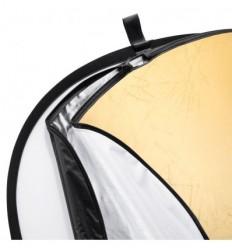 Reflektor 5i1 (Soft, sølv, guld, sort & hvid) 122 x 90 cm 0