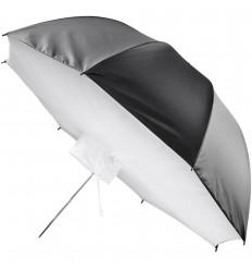 Regenschirm Soft Licht Box SCHWARZ 100cm